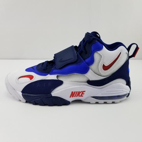 c52a757683 Nike Air Max Speed Turf Giants Void Racer Blue Red. NWT. Nike.  M_5cc7c8e0de696a7dca43321f. M_5cc7c8e1152812ecf82cea31.  M_5cc7c8e2adb58d24f41b9a8a